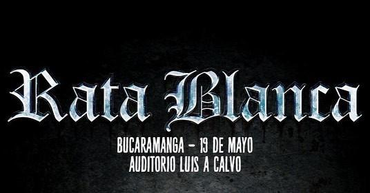 Rata Blanca en Bucaramanga 2019