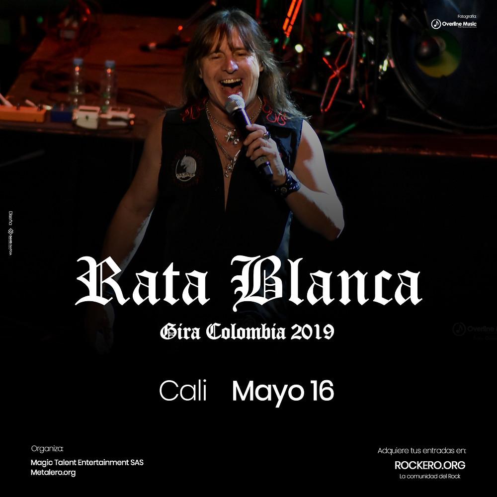 Rata Blanca en Cali, Colombia 2019