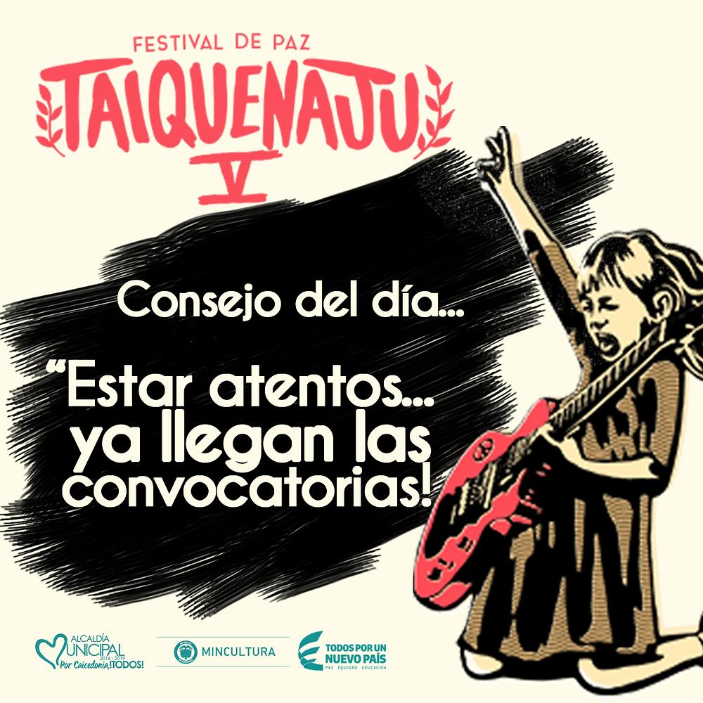 Festival Taiquenaju 2018 Caicedonia