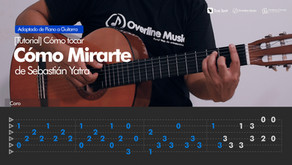 Cómo Mirarte de Sebastián Yatra | Tutorial Guitarra + TAB
