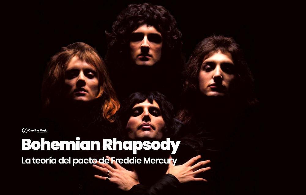 Teoria del pacto Freddie Mercury Bohemian Rhapsody