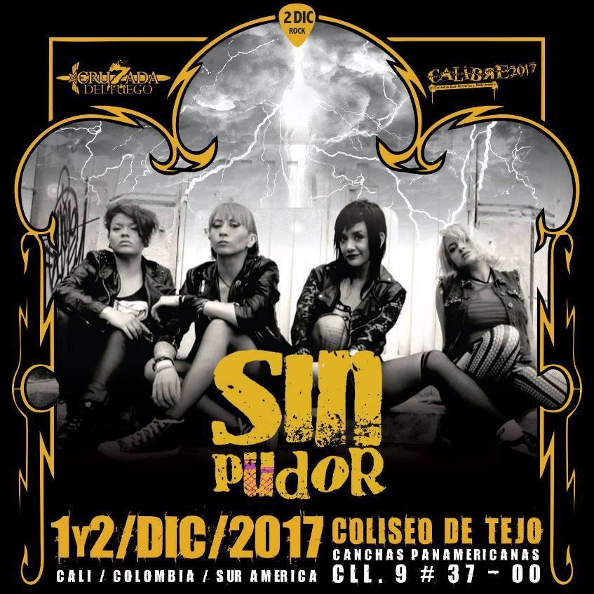 Sin Pudor - Festival Calibre 2017