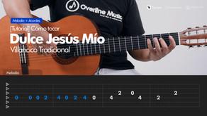 Dulce Jesús Mío - Villancico (Gozos) | Tutorial Guitarra + TAB