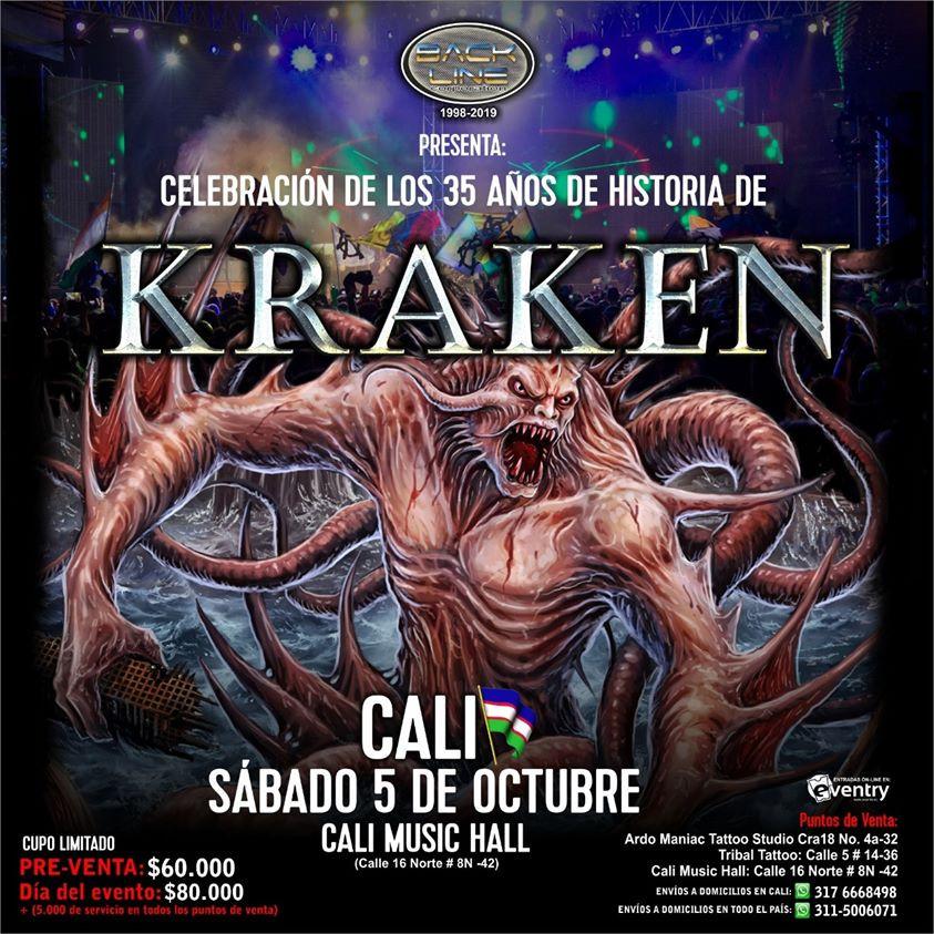 Kraken en Cali, Colombia 2019