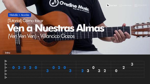 Ven a Nuestras Almas - Villancico (Gozos) | Tutorial Guitarra + TAB
