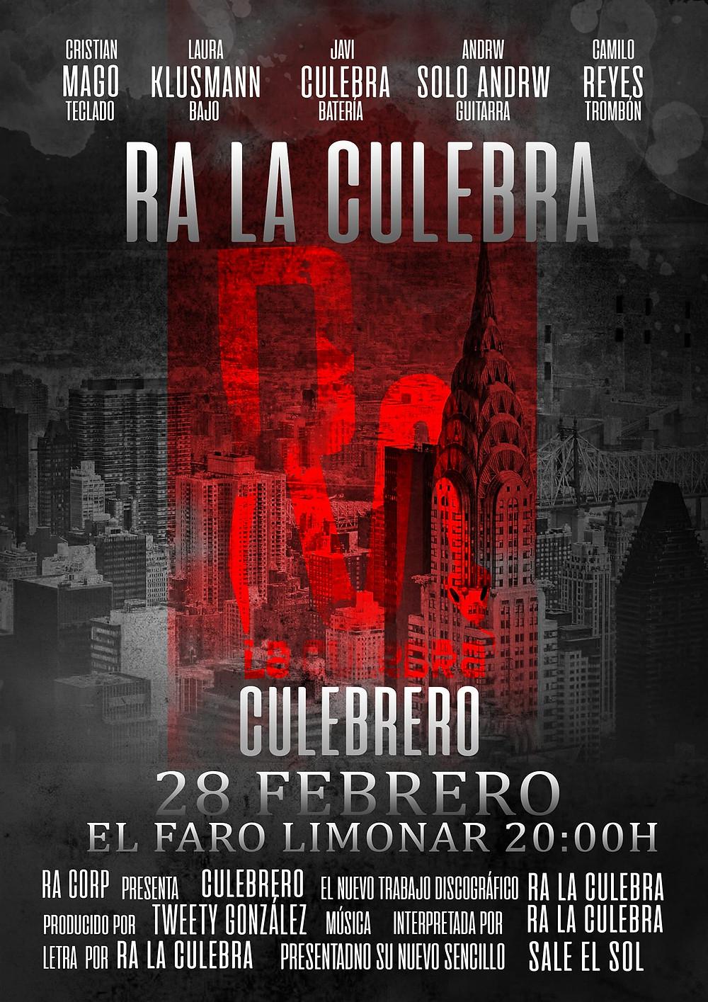 Ra La Culebra lanza Culebrero