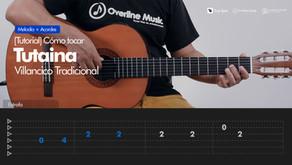 Tutaina Villancico | Tutorial Guitarra + TAB