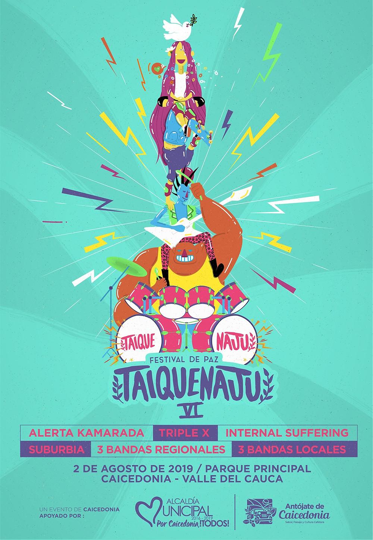 Festival Taiquenaju Caicedonia 2019