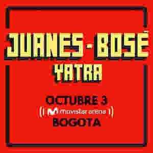 Juanes y Bosé en Bogotá 2018