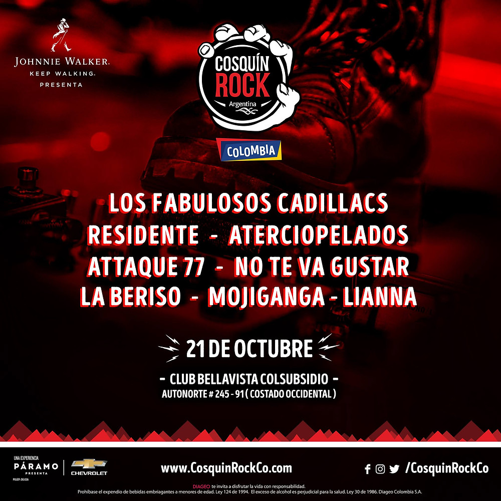 Cosquin Rock Colombia - Overline Music