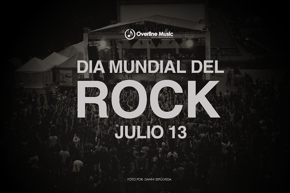 Dia mundial del Rock Overline Music