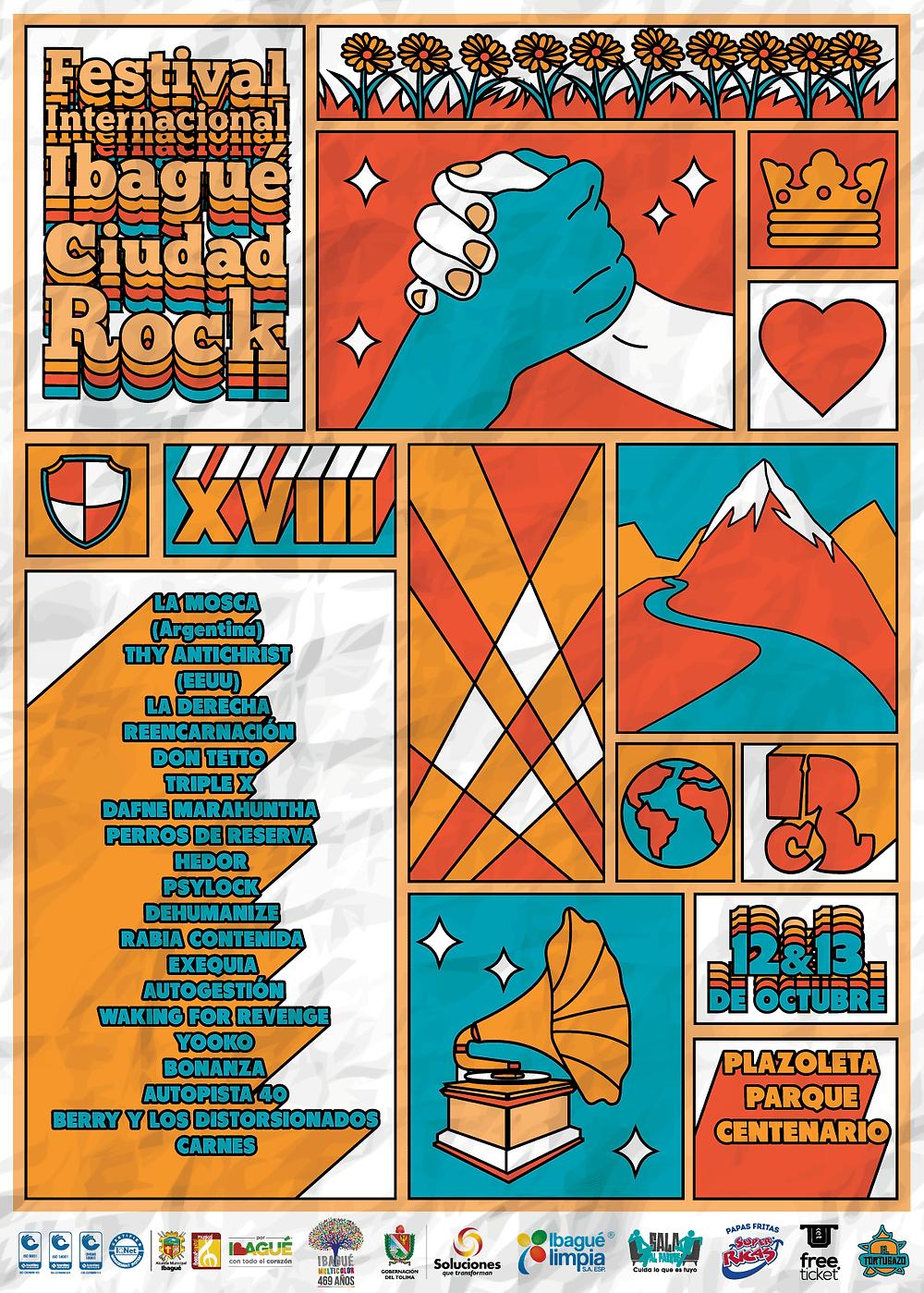 Ibagué Ciudad Rock 2019