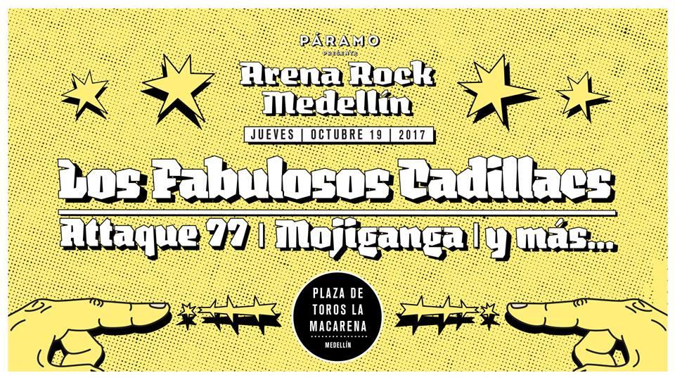 Arena Rock Medellín 2017