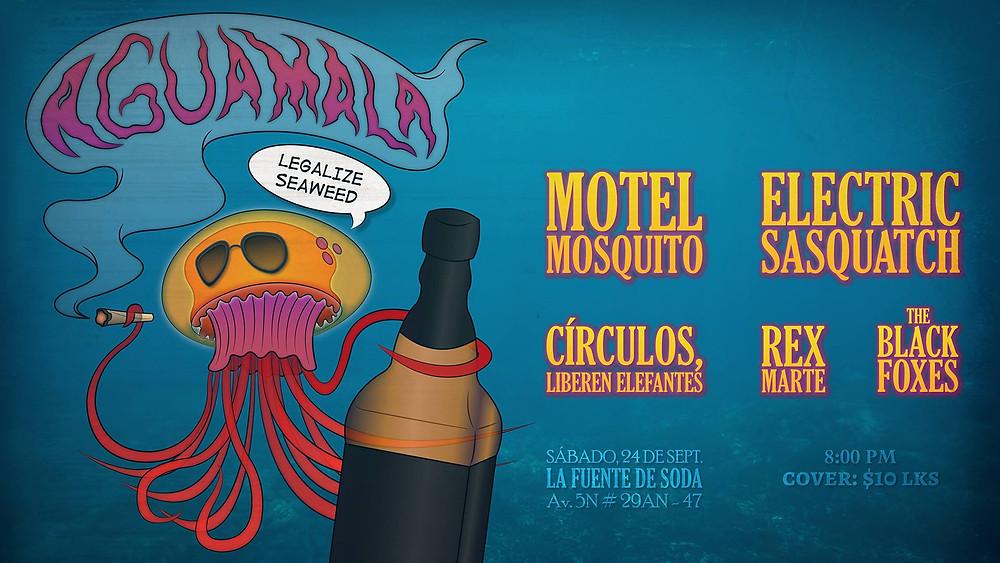 Evento: Aguamala - Overline Music