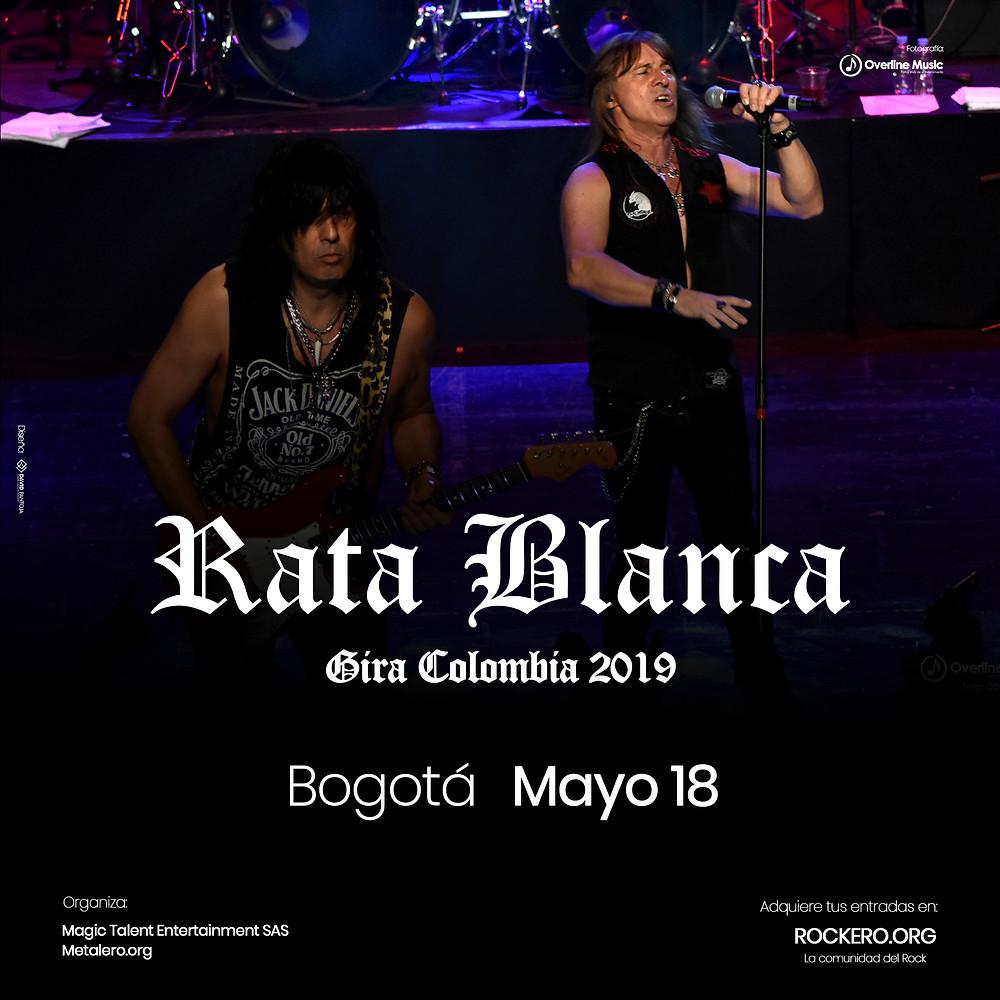 Rata Blanca en Bogotá, Colombia 2019