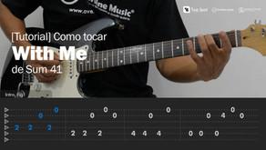 Cómo tocar With Me de Sum 41 en Guitarra [Tutorial Overline Music]