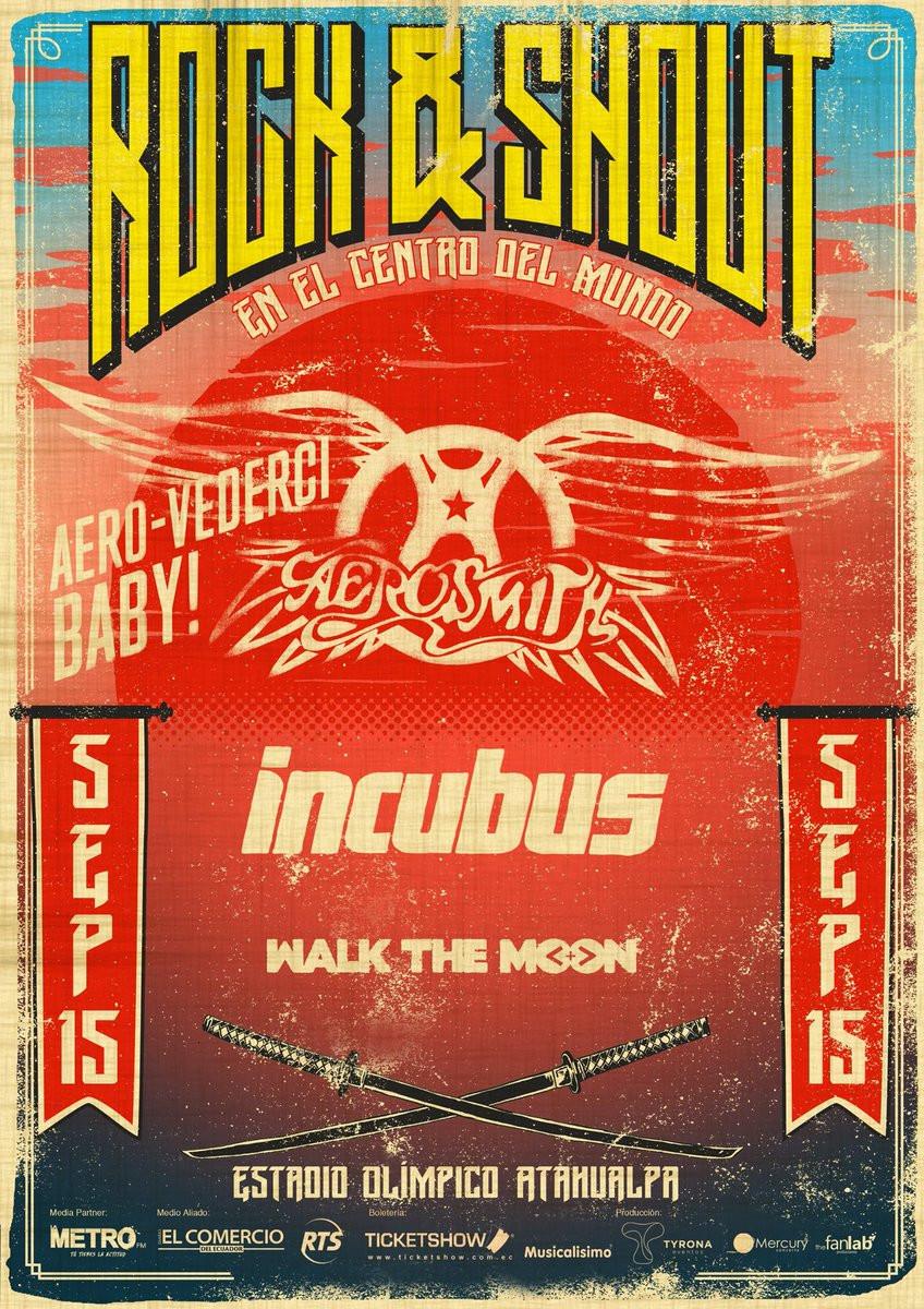 Rock & Shout Fest Ecuador 2017