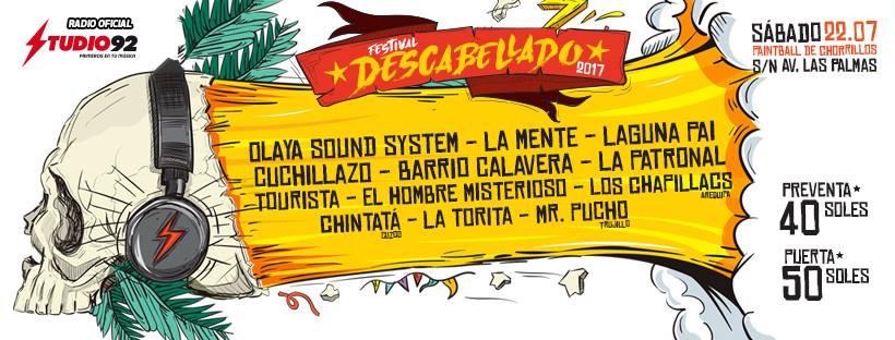 Festival Descabellado 2017 Perú