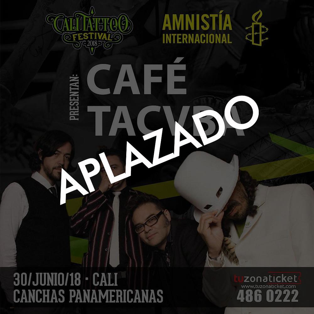 Cafe Tacvba en Cali Aplazado