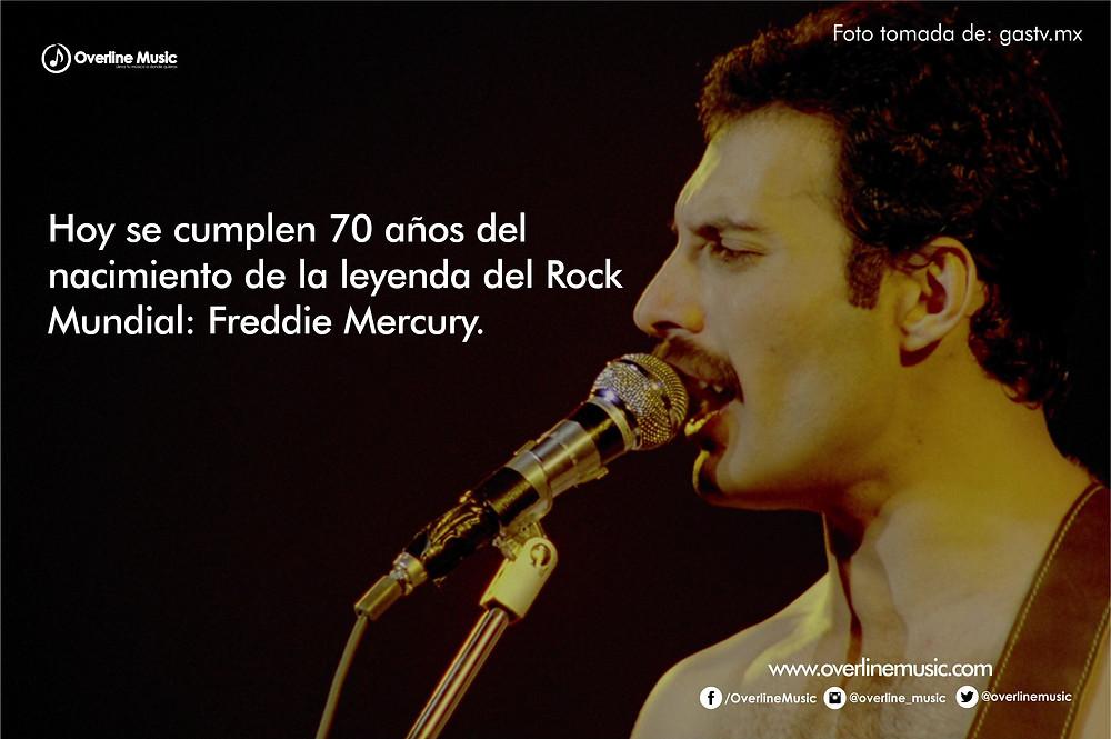 Overline Music - Freddie Mercury
