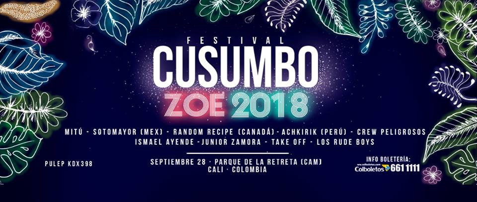 Festival Cusumbo 2018