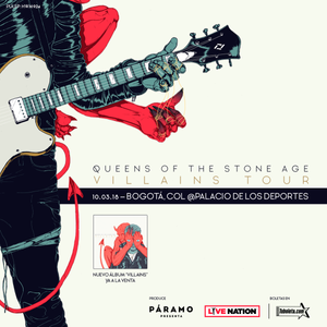 Queens of the stone age en Colombia 2018