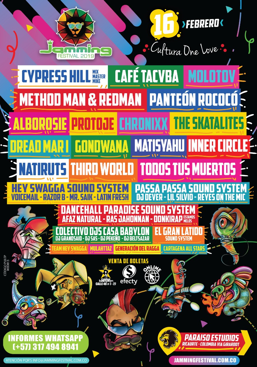 Jamming Festival Colombia 2019