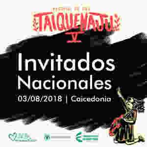 Artistas Nacionales Taiquenaju 2018