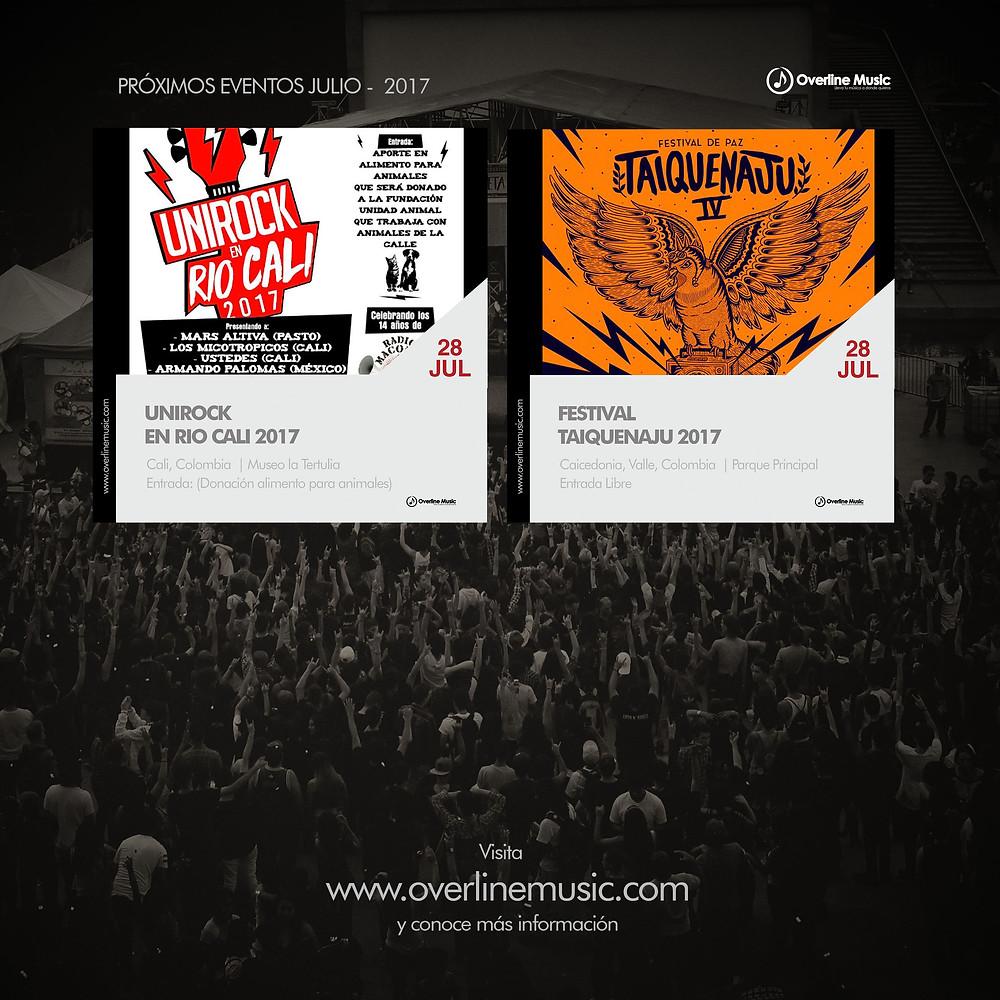 Próximos Eventos Overline Music