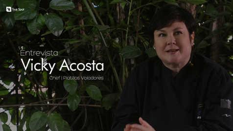 Entrevista Chef Vicky Acosta