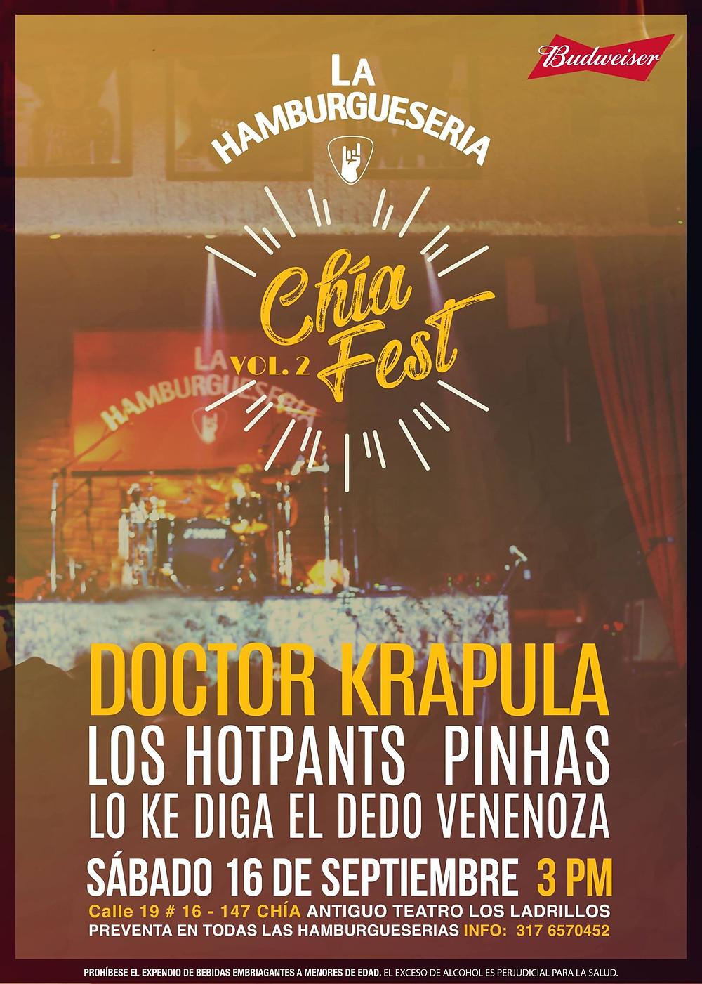 Chía Fest Vol2: Doctor Krapula