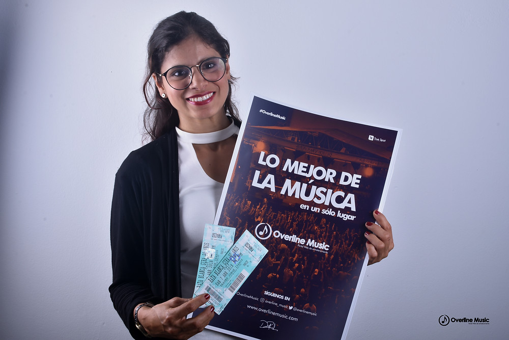 Ganadora concurso Overline Music