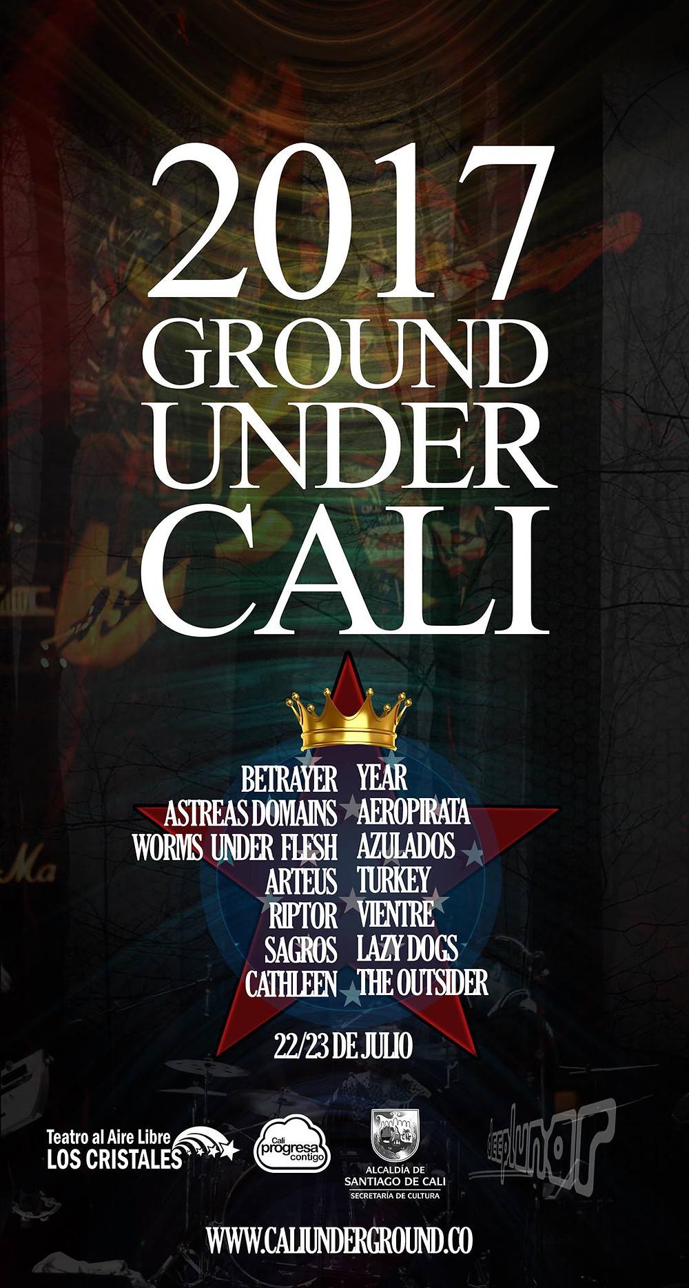 Cartel Cali Underground 2017