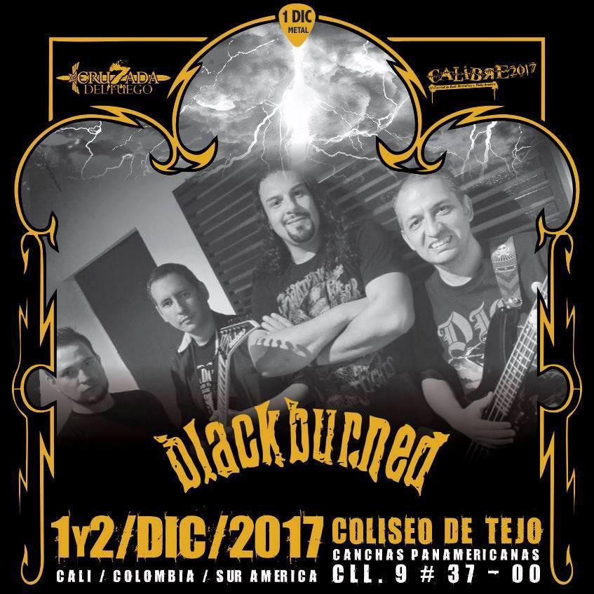 BlackBurned - Festival Calibre 2017