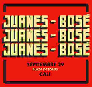 Juanes y Bosé en Cali 2018