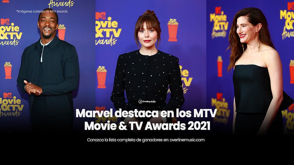 Marvel destaca en los MTV awards 2021
