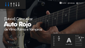 Cómo tocar Auto Rojo de Vilma Palma en Guitarra [Tutorial]