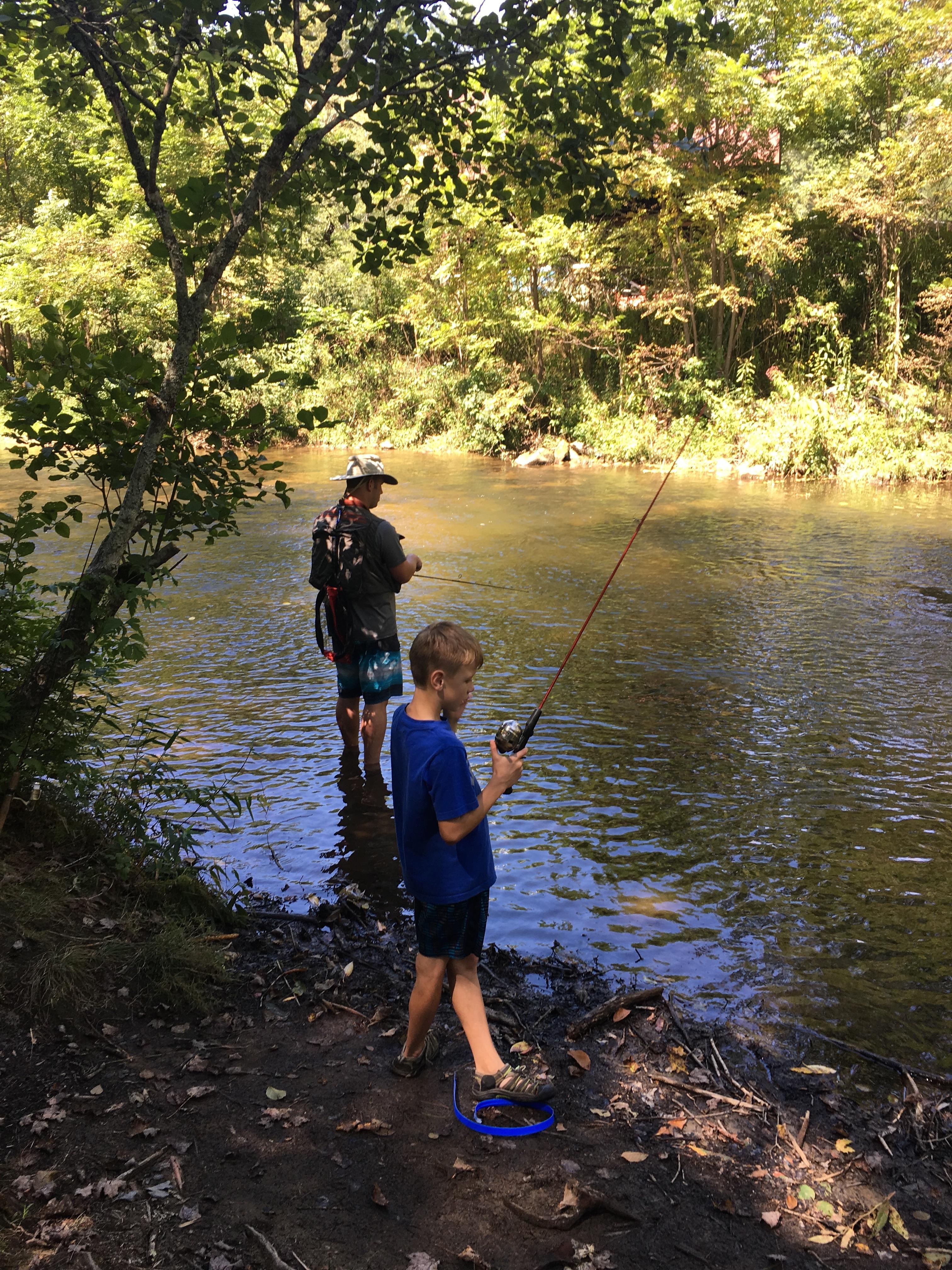 Fishing Hole near Cabin