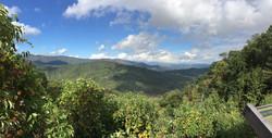 Cherohala Skyway Mountain Views