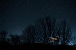 Night View of Hoopers Bald