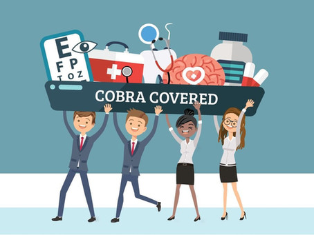 For all Employers, Eligible employees will have their COBRA premiums covered from 4/1/21- 9/30/21