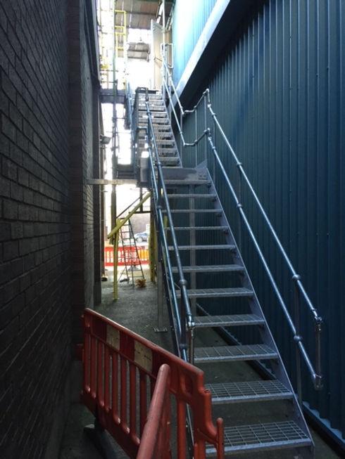 An exterior metal staircase.JPG