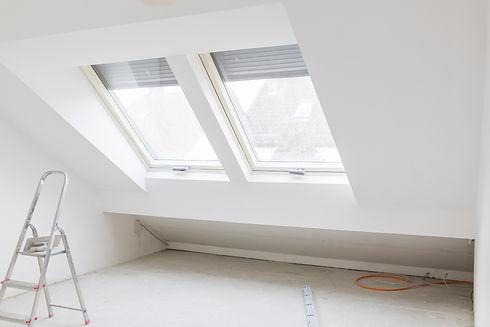Renovated loft room with Velux windows.jpg