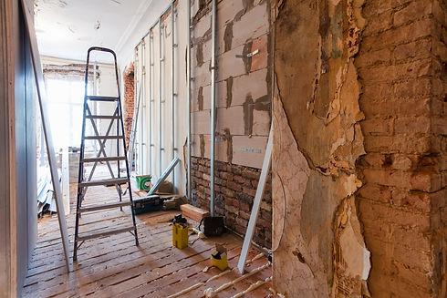 Corridor being renovated.jpg