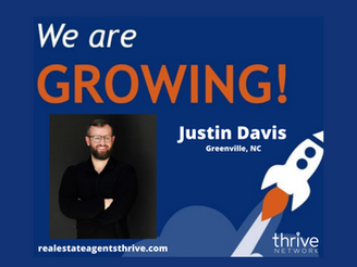 A Top, North Carolina Based Real Estate professional, Justin Davis, Joins The Thrive Network & EXP