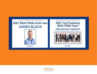 Jim Black & The Jim Black Group Win Realtor Of The Year & Top Producing Realtor Team Awards