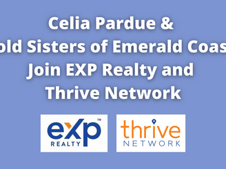Celia Pardue & Sold Sisters of Emerald Coast Join EXP Realty and Thrive Network