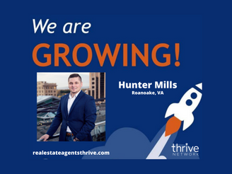 Hunter Mills, A Top Southern Virginia Based Real Estate professional, Joins Thrive & EXP Realty