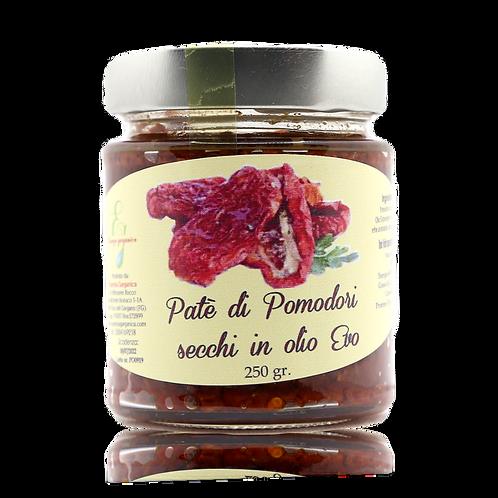Patè di pomodori secchi in olio EVO
