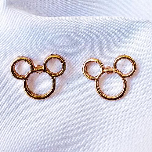 Brinco Mickey - Dourado